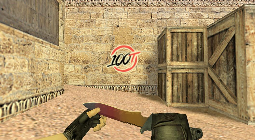«100 Thieves Logo» для CS 1.6