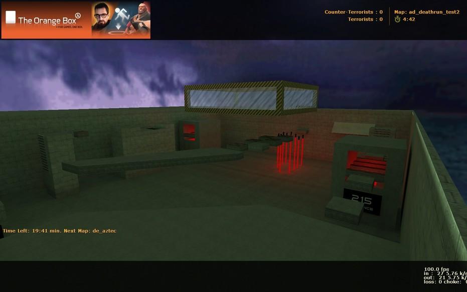 «ad_deathrun_rzeznia_easy» для CS 1.6