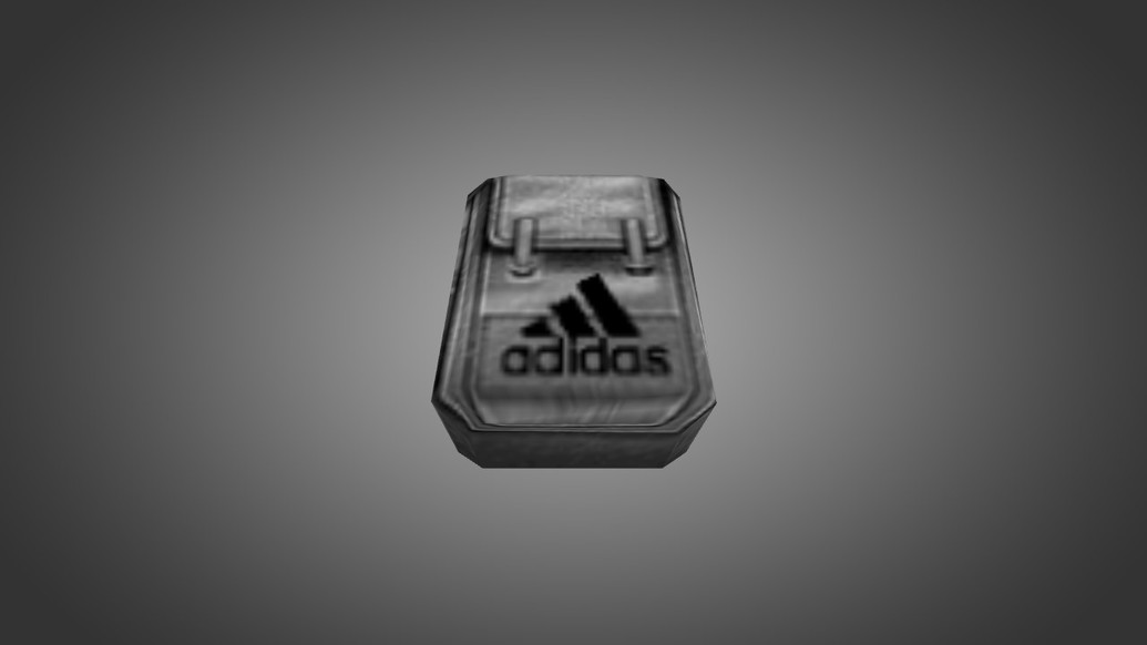 «Adidas White Backpack» для CS 1.6