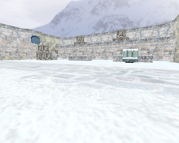«aim_snowy_winter» для CS 1.6