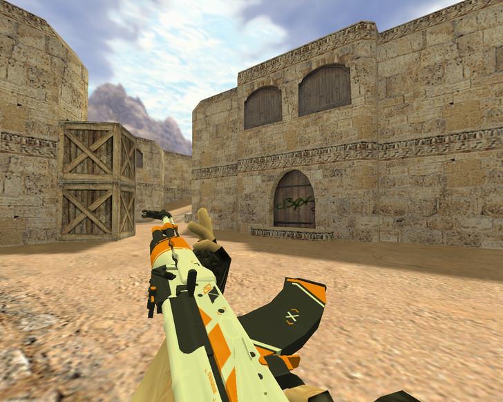 «АК-47 Азимов» для CS 1.6