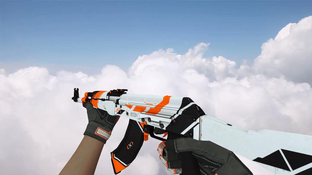 «AK-47 Asiimov» для CS 1.6