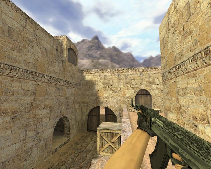 «АК-47 Черный картель» для CS 1.6