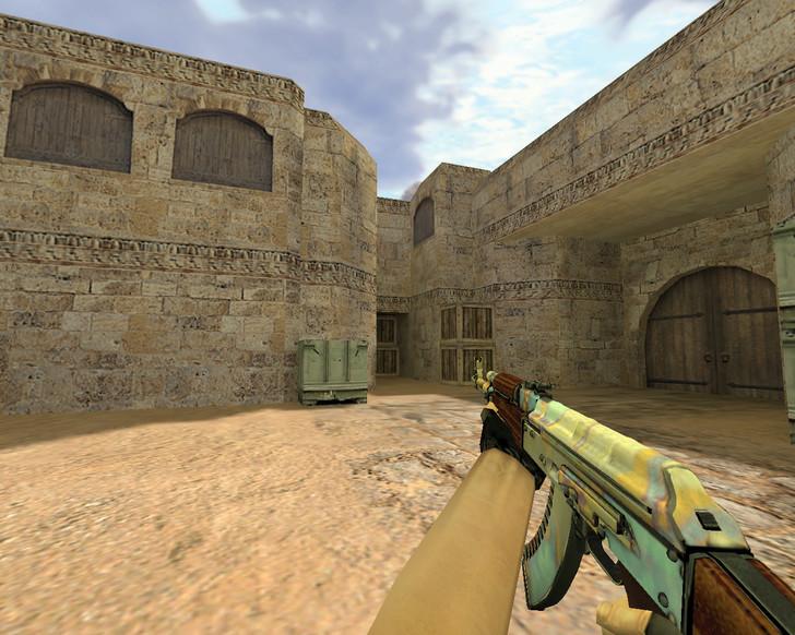«АК-47 Поверхностная закалка» для CS 1.6
