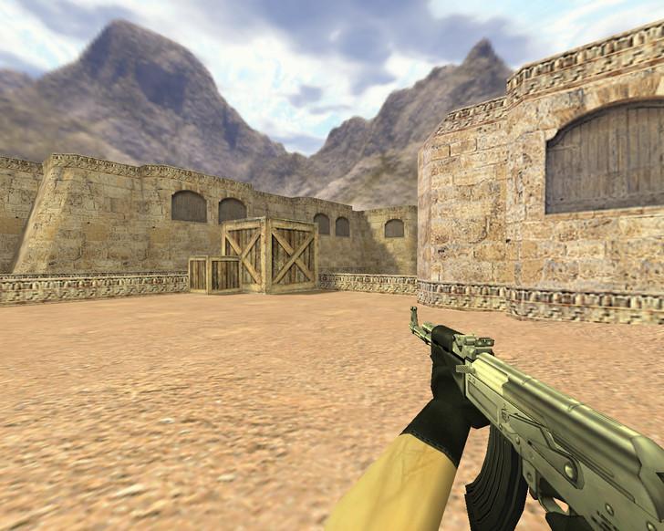 «АК-47 Хром» для CS 1.6