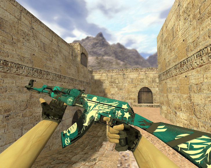 «АК-47 Крылья спецназа» для CS 1.6