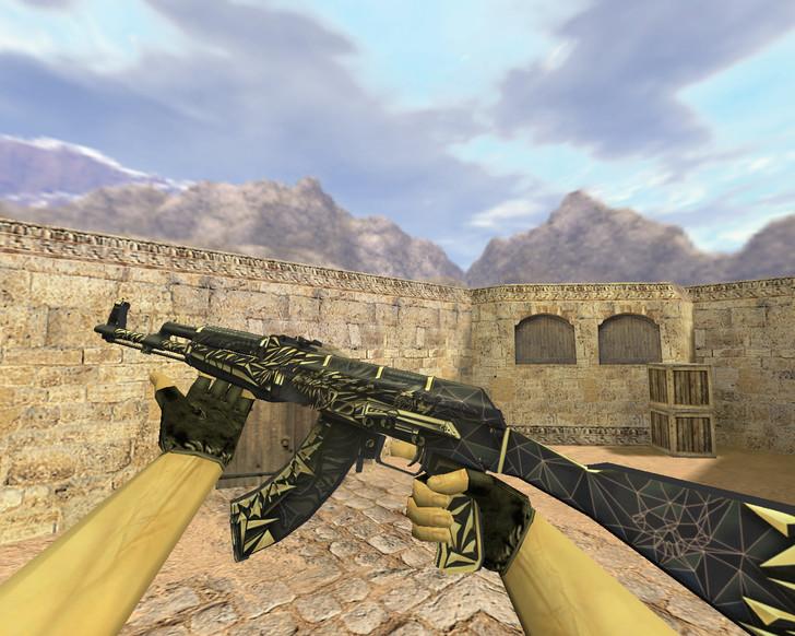 «АК-47 Киберпушка» для CS 1.6