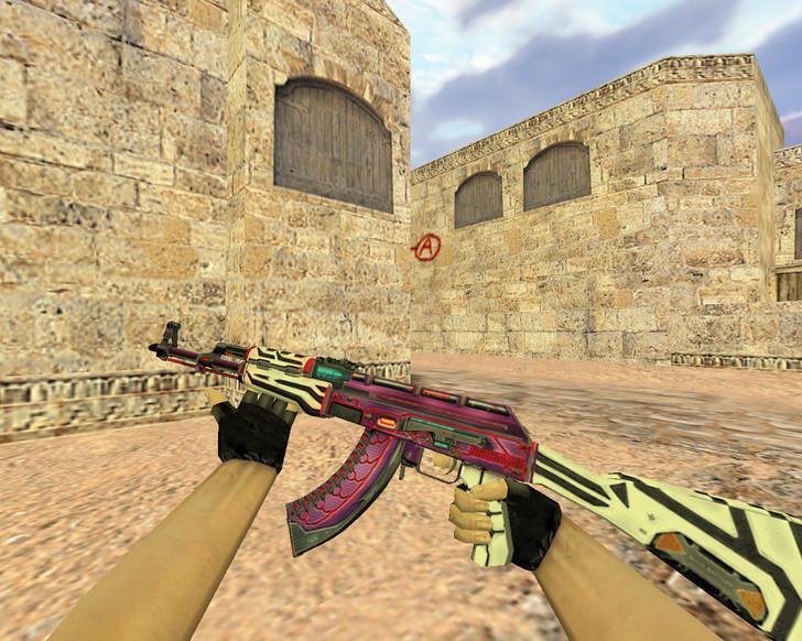 «АК-47 Кибервоин» для CS 1.6