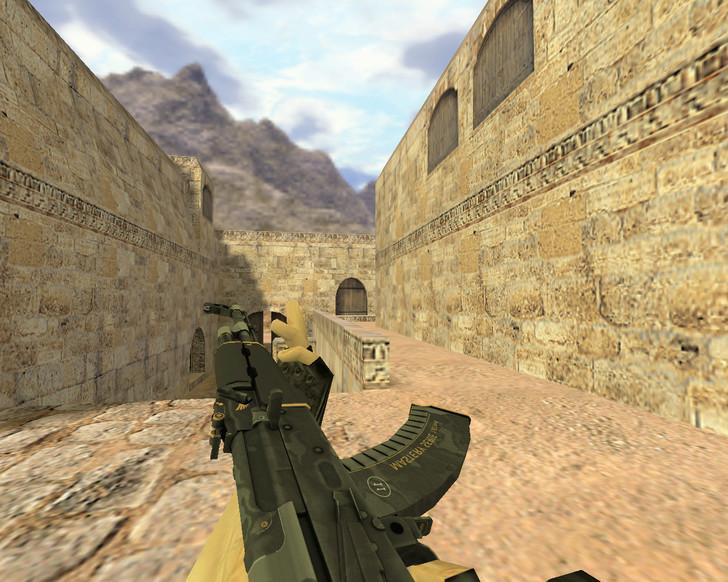 «АК-47 Элитное снаряжение» для CS 1.6