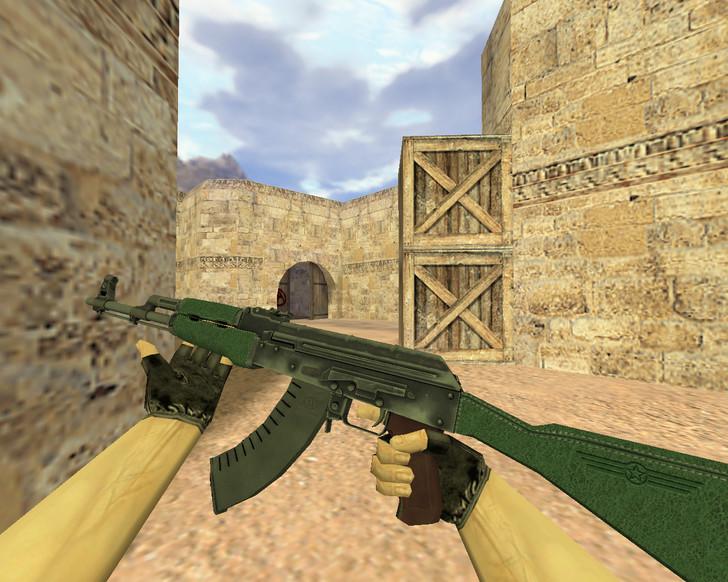 «АК-47 Первый класс» для CS 1.6