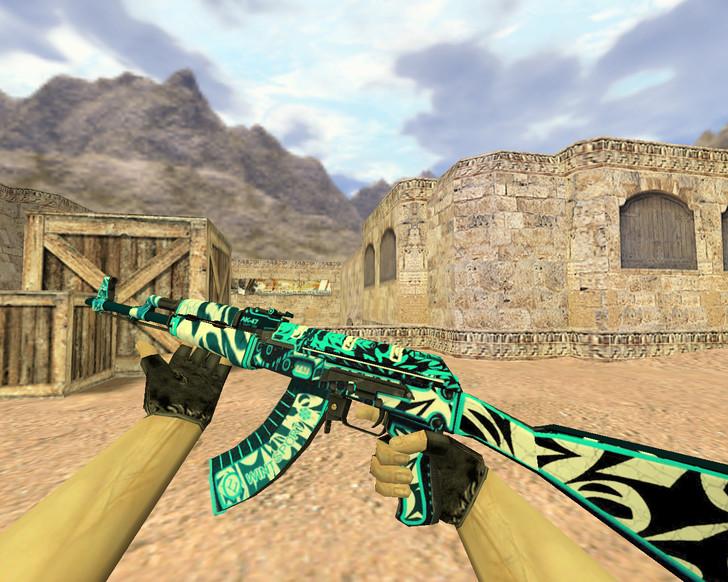 «АК-47 Снежный вихрь» для CS 1.6