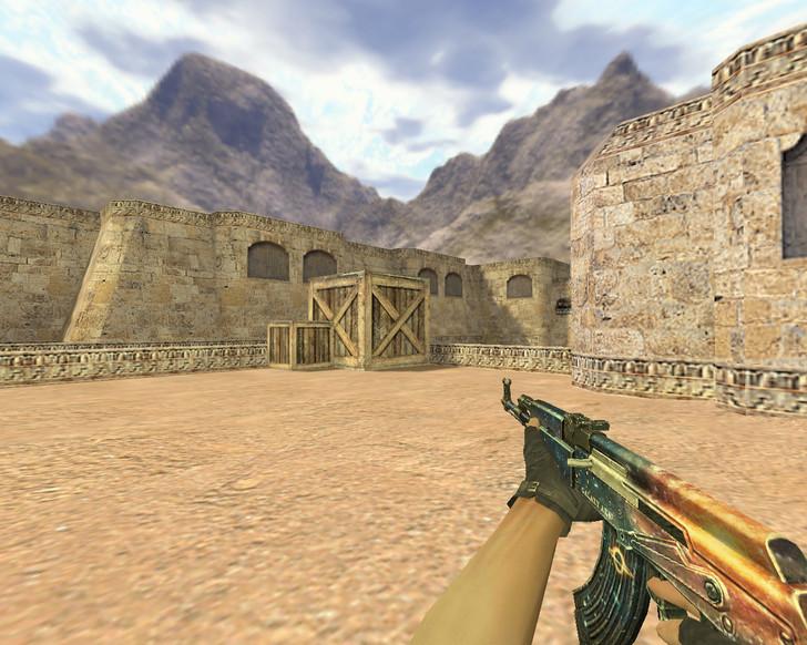 «АК-47 Галактика» для CS 1.6