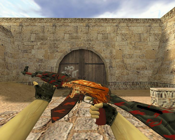 «АК-47 Вой» для CS 1.6