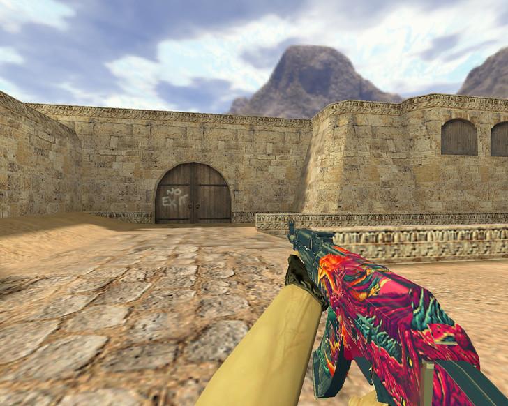 «АК-47 Скоростной зверь» для CS 1.6