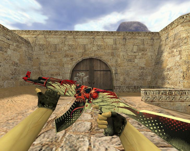 «АК-47 Шакал» для CS 1.6