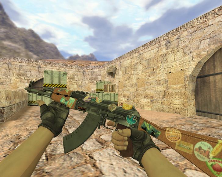 «АК-47 Путешественник» для CS 1.6
