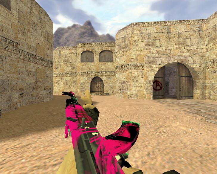 «АК-47 Неоновая революция» для CS 1.6