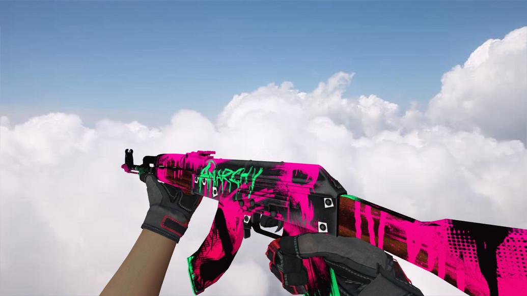 «AK-47 Neon Revolution» для CS 1.6