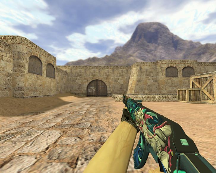 «АК-47 Кошмар» для CS 1.6