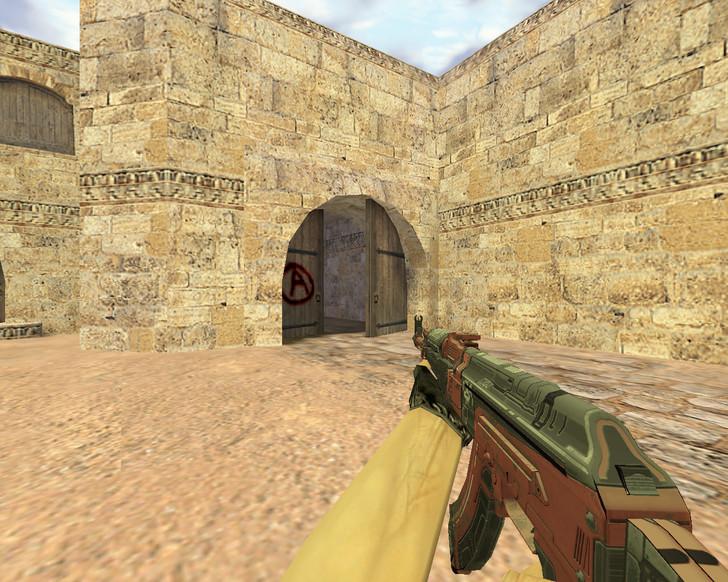 «AK-47 Orbit Mk01» для CS 1.6