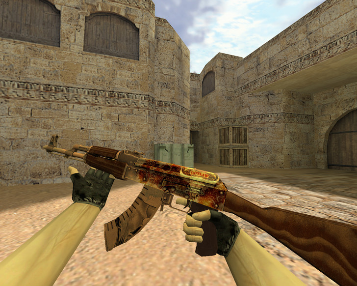 «АК-47 Разбойник» для CS 1.6