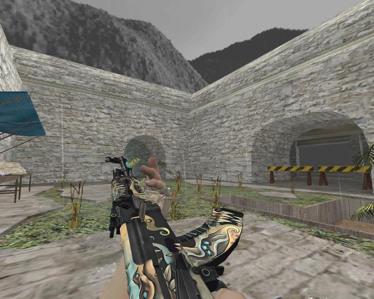 «АК-47 «Фантомный вредитель» (Phantom Disruptor)» для CS 1.6