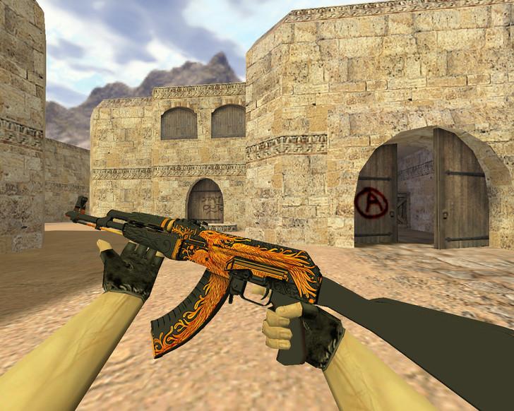 «АК-47 Феникс» для CS 1.6