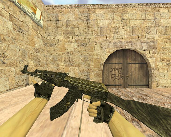 «АК-47 Гордость» для CS 1.6