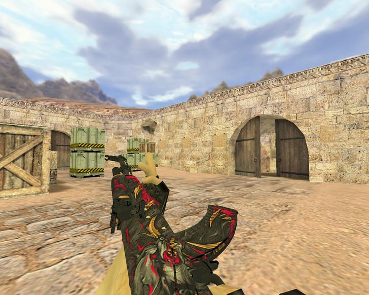 «АК-47 Буйство» для CS 1.6