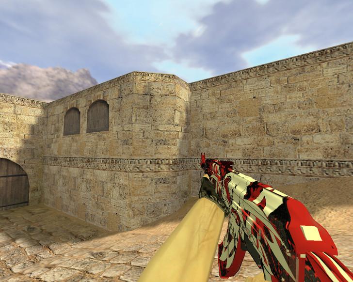 «АК-47 Жнец» для CS 1.6