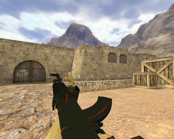 «АК-47 Красная линия» для CS 1.6