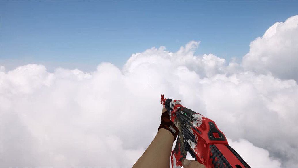 «AK-47 Roll Cage» для CS 1.6