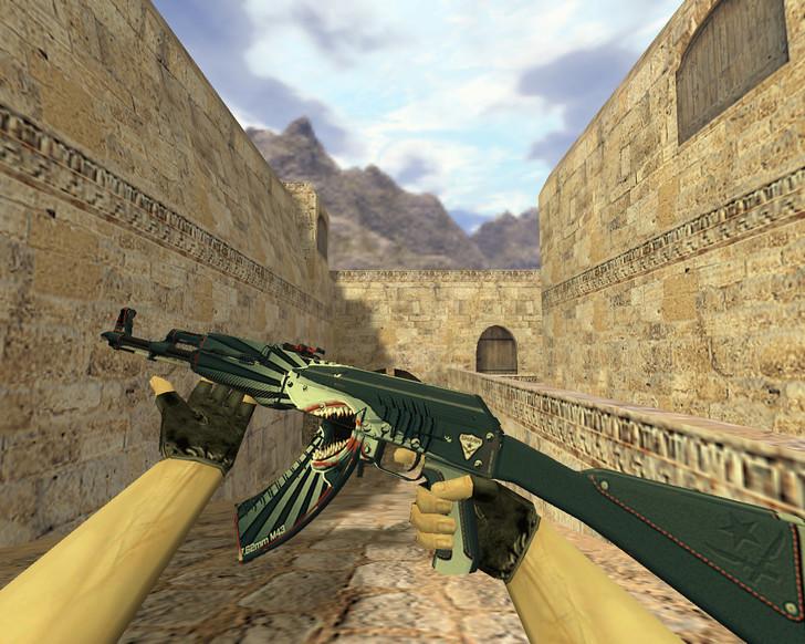 «АК-47 Акула» для CS 1.6