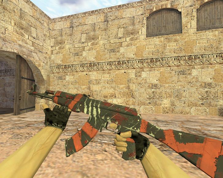 «АК-47 Выживший» для CS 1.6