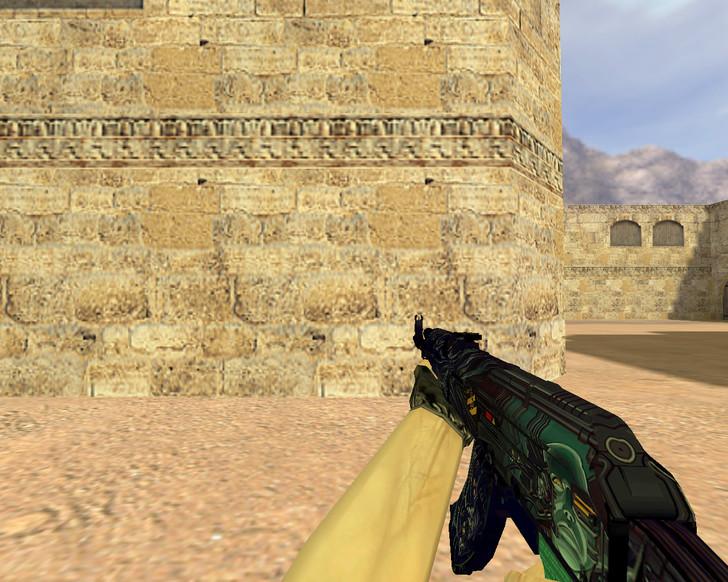 «АК-47 Неизвестность» для CS 1.6