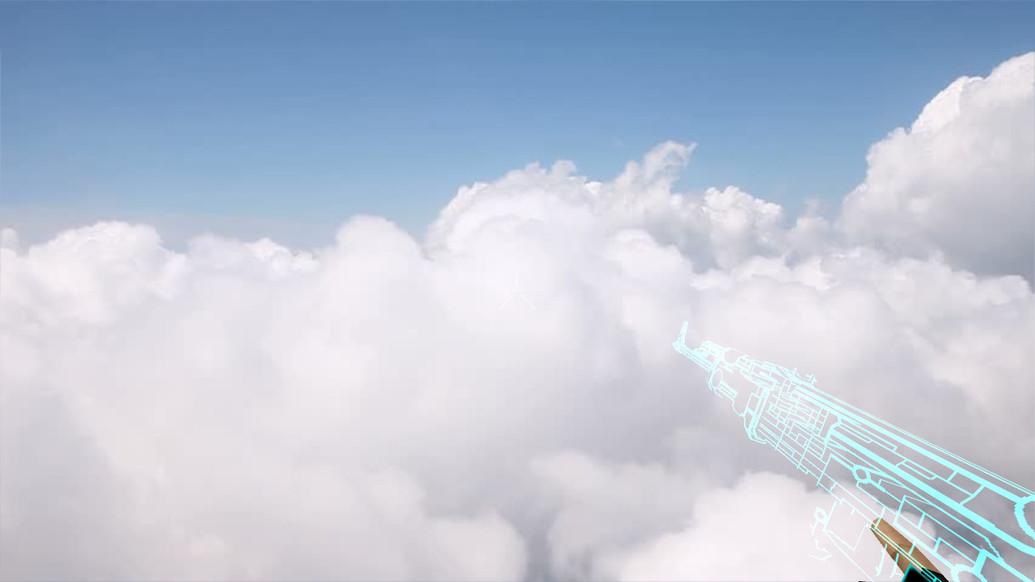 «AK-47 TRON» для CS 1.6