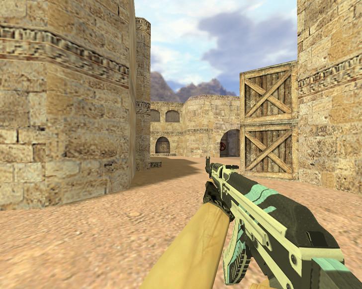 «АК-47 Вулкан» для CS 1.6