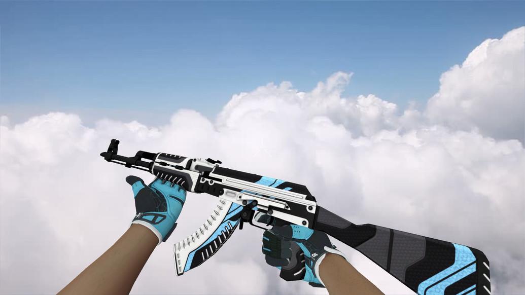 «AK-47 Vulcan» для CS 1.6