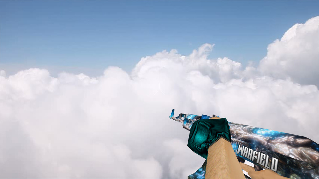 «AK47 Blue Bones» для CS 1.6
