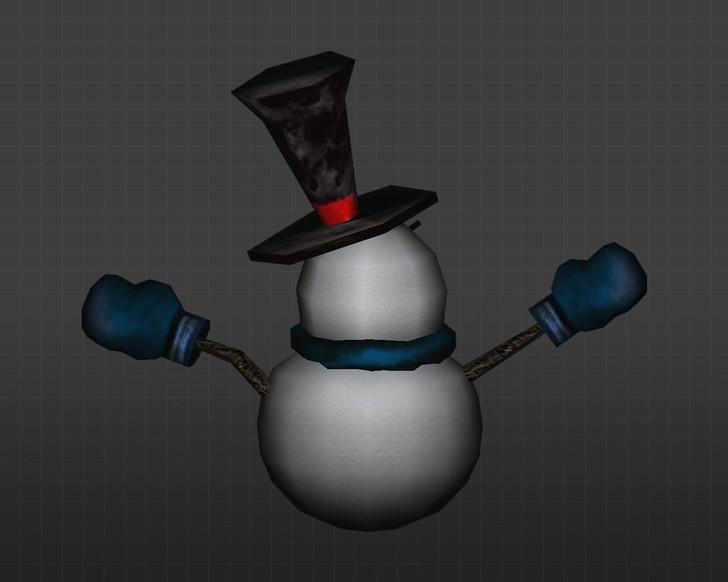 «Злобный снеговик» для CS 1.6