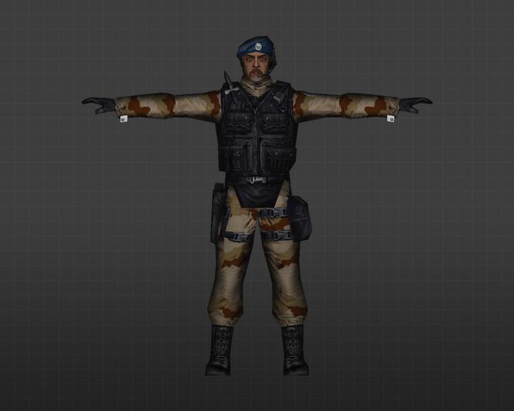 «Арабский солдат» для CS 1.6