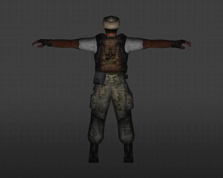 «Арабский террорист» для CS 1.6