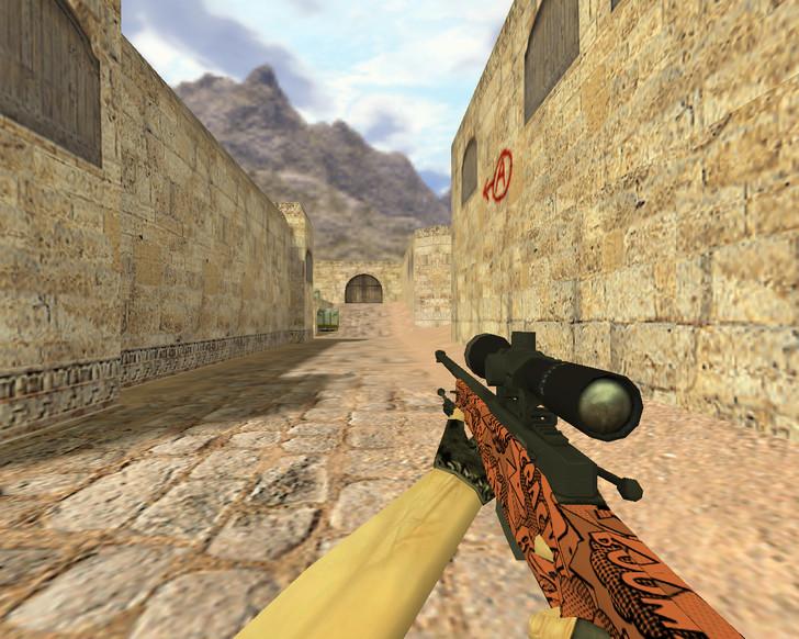 «AWP Бах» для CS 1.6