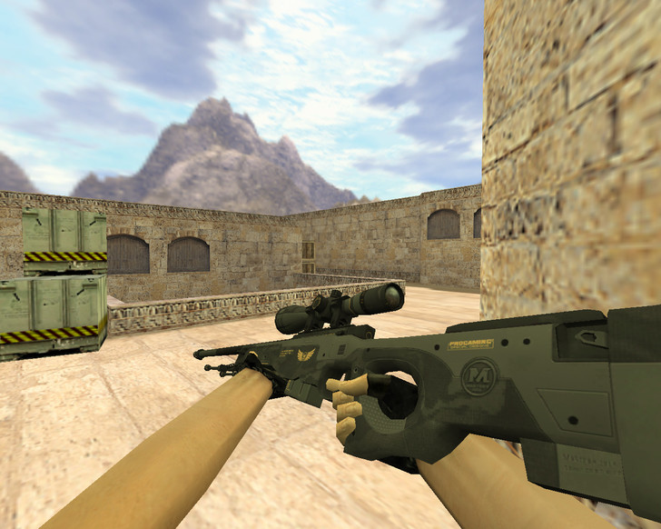«AWP Элитное снаряжение» для CS 1.6