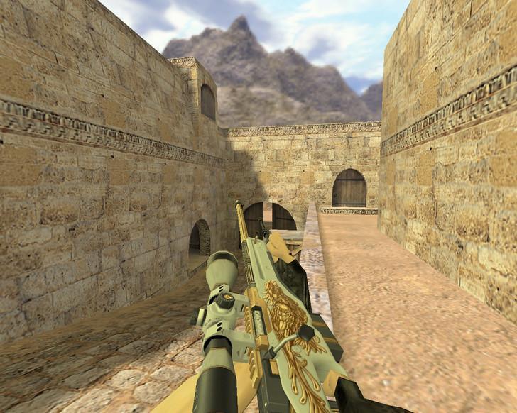 «AWP Серый Феникс» для CS 1.6