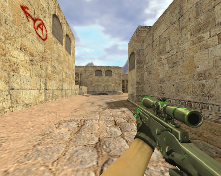 «AWP Razer» для CS 1.6