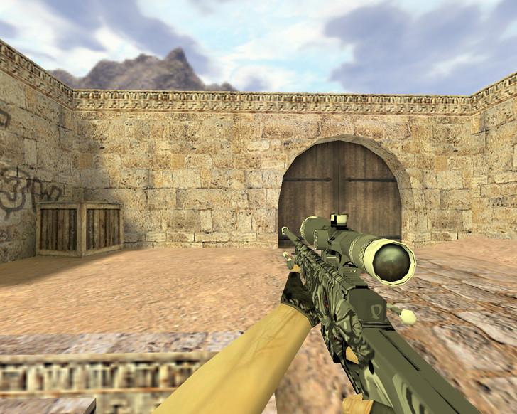 «AWP Дымовая завеса» для CS 1.6