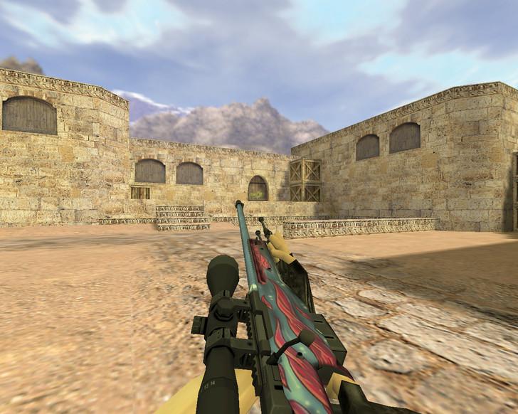 «AWP Щупальца» для CS 1.6