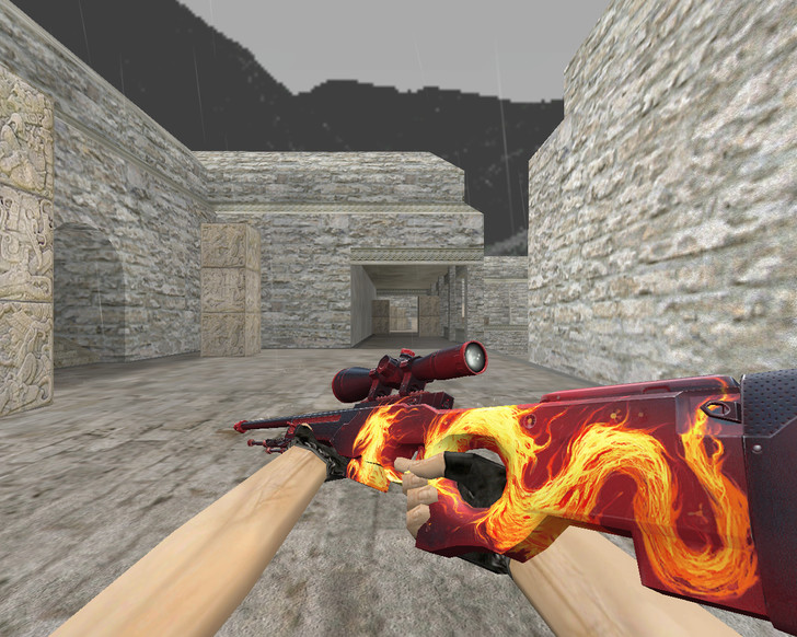 «AWP «Дикое пламя» (Wildfire)» для CS 1.6