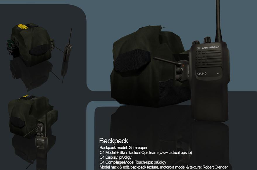 «Backpack Partial reskin and hack» для CS 1.6
